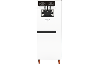 Brullen i95 Plus Pump - Three Flavour Floor Standing Ice Cream Machine - White
