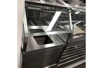 Single Pan Heated Bain Marie Cabinet BS1A  F.E.D