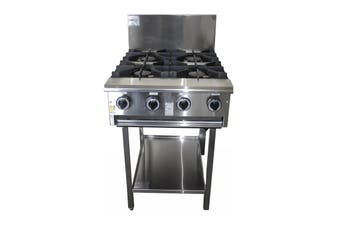 Complete Commercial High Capacity Boiling Burner - 4 Burner  Complete Commercial Equipment