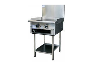 Complete Commercial Mild Steel Hot Plate Griller - 600mm  Complete Commercial Equipment