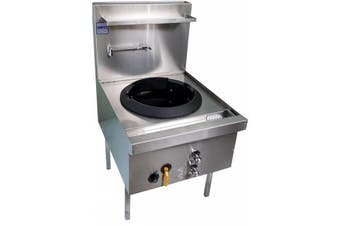 Complete Commercial Front Gutter FIued Wok Table - 6 Burner  Complete Commercial Equipment