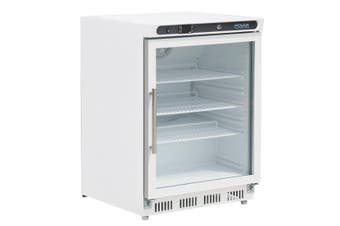 Polar C-Series Under Counter Display Fridge White 150Ltr