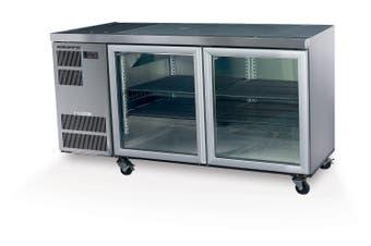 Skope CL400 2 Glass or Solid Swing Door Fridge