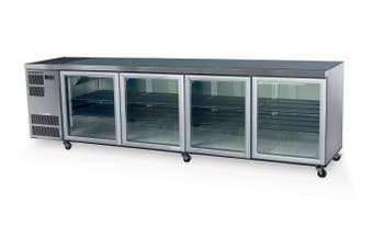 Skope CL800 4 Glass or Solid Swing Door Fridge