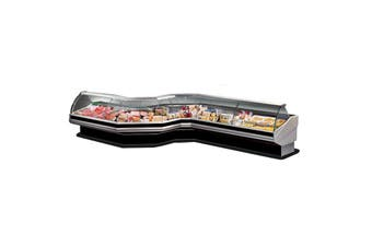 Coner External Glass - CURVED FRONT GLASS DELI DISPLAY - CN90E  ItaliaCool