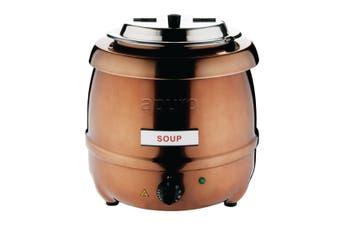 Apuro Soup Kettle Copper Finish