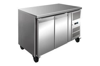 Thermaster S/S Two Door Bench Freezer 260L FE2100BT