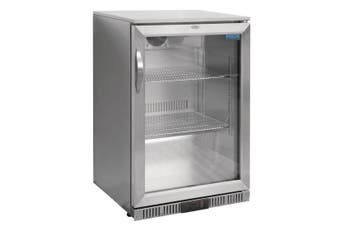 Polar G-Series Back Bar Cooler with Hinged Door Stainless Steel 138Ltr