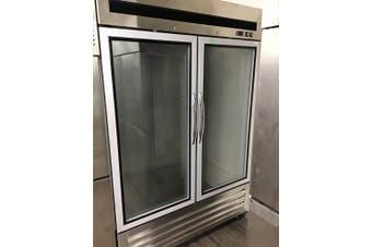 Double glass door upright freezer GTF1400G2  F.E.D