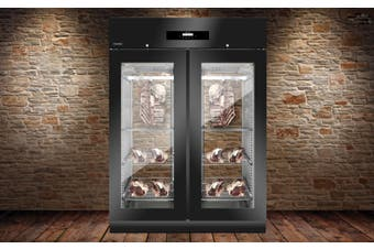 Everlasting Double Door Dry Age Meat Cabinet Panorama