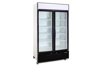 Saltas Double Door Display Freezer 726Lt