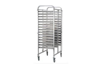 Stainless Steel 2 X 15 Tier Gn Trolley  ICE