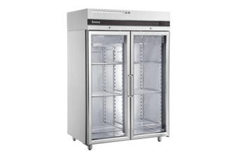 Inomak Double Door Upright Glass Freezer 1432Lt