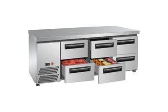 LBC180 Six drawer Lowboy Fridge  Thermaster