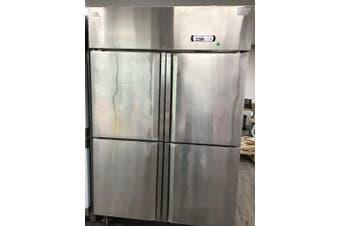 F.E.D 1250x760x1950 Four split door S/S freezer