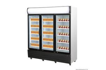 Thermaster 1461L Triple Door Upright Combined Fridge Freezer
