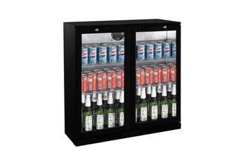 Thermaster 208L Under Bench Two Hinged Door Bar Cooler