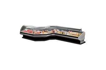 PAN1500 - Curved front glass deli display  ItaliaCool