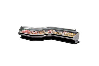 PAN2000 - Curved front glass deli display 2020x1140x1260  ItaliaCool