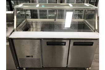 Chilled Bain Marie Food Display- PG150FA-Y  F.E.D