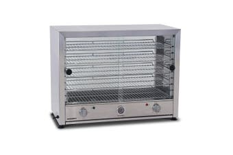 Roband Pie and Food Warmer Glass Door Both Side - 100 Pies