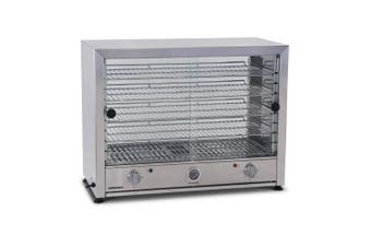 Roband Pie and Food Warmer Hinged Glass Door with Internal Light - 100 Pies