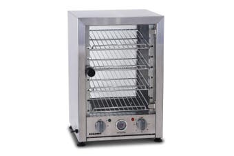 Roband Pie and Food Warmer Hinged Glass Door - 25 Pies