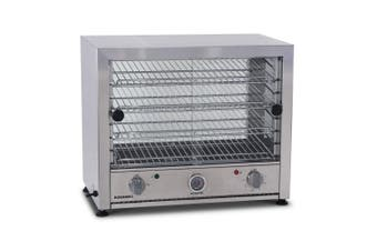 Roband Pie and Food Warmer Glass Door Both Side - 50 Pies