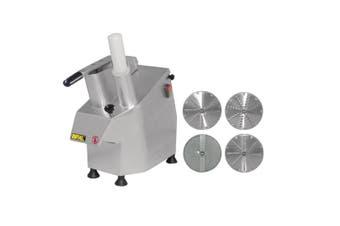 Apuro Multi Function Continuous Veg Prep Machine with 4 Discs