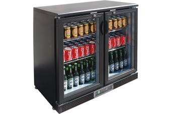 SC248G Two Door Drink Cooler  Thermaster