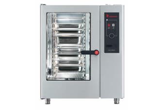 Eloma 10 X 1/1Gn Electric Combi Oven With Electronic Controls, Heat Recovery And Left Hand Hinged Door