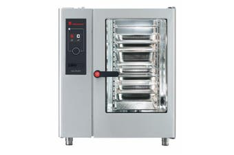 Eloma 10 X 1/1Gn Gas Combi Oven With Electronic Controls, Heat Recovery And Right Hand Hinged Door