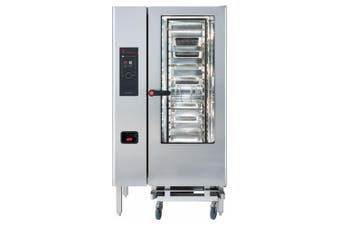 Eloma 20 X 1/1Gn Gas Combi Oven With Electronic Controls, Heat Recovery And Right Hand Hinged Door