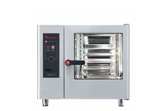 Eloma 6 X 1/1Gn Gas Combi Oven With Electronic Controls, Heat Recovery And Right Hand Hinged Door