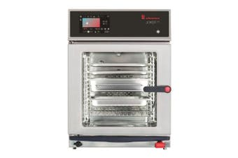 Eloma 6 X 2/3Gn Compact Electric Combi Oven With Multitouch Controls, Active Dehumidification And Left Hand Hinged Door