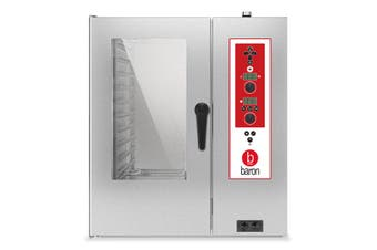 Baron 10 X 1/1Gn Gas Direct Steam Combi Oven With Electronic Controls