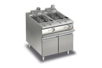 Baron 15+15L Double Basin Electric Deep Fryer