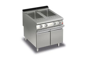 Baron 40+40L Double Basin Electric Pasta Cooker