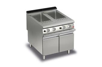 Baron 40+40L Double Basin Gas Pasta Cooker