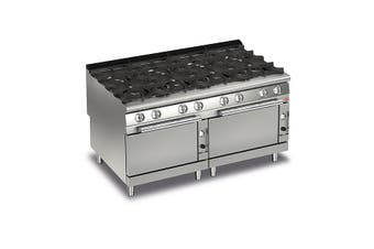 Baron 8 Burner Gas Cook Top With 2 Gas Ovens - 900Mm Depth