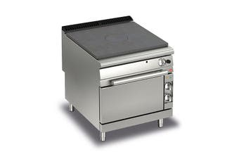 Baron Gas Target Top With Electric Oven - 900Mm Depth