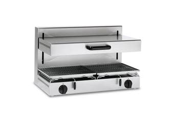Baron Adjustable Height Electric Salamander Grill With 800 X 350 Mm Cooking Surface