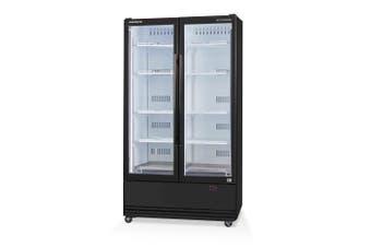 Skope SKB900-A 2 Glass Door Display or Storage Fridge