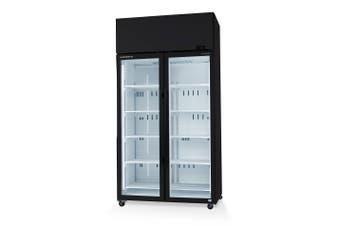 Skope SKT1000-A 2 Glass Door Display or Storage Fridge