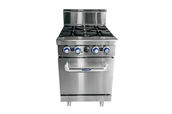 CookRite 4 Burner with Oven NG