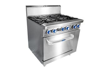 CookRite 6 Burner with Oven NG