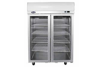 Atosa Double Glass Door Lightbox Freezer