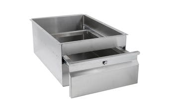 3Monkeez Stainless Steel Gastronorm Drawer With Lock
