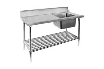 Right Inlet Single Sink Dishwasher Bench SSBD7-1800R/A  Modular Systems