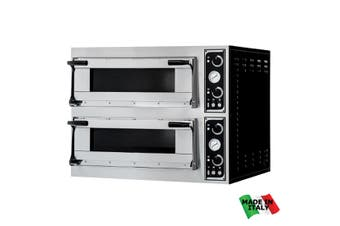 TP-2-SD Prisma Food Pizza Ovens Double  Deck 12 x 35cm  Bakermax
